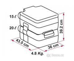 Fiamma Bi-Pot 39 Chemické WC přenosné